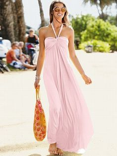 Maxi Bra Top Dress - Victoria's Secret  MUST. HAVE. NOW.  #gorgeous #Summer #dress #VS #gimmenow.