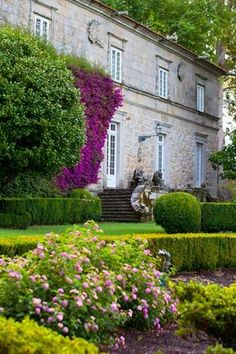 Conservation Architecture, Porches, Country Scenes, Green Landscape, Facade House, Spain Travel, Tenerife, Terra, Beautiful Gardens
