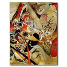 Kandinsky's Abstract Composition