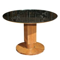 Fine Art Deco Coffee Table by Jules Leleu | From a unique collection of antique…
