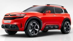 Citroen 2016 Aircross Concept-Citroen is getting ready to launch a C4 Cactus-inspired Nissan Juke-style small crossover and the Ai... - Citroen