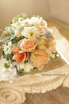 ブレーメンウェディング | ブーケ・ウェディングブーケ・プリザーブドブーケ Bridal Flowers, Flower Bouquet Wedding, Floral Wedding, Boquet, Wedding Flower Arrangements, Floral Arrangements, Colorful Flowers, Beautiful Flowers, Pastel Bouquet