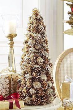 Gorgeous 25 Creative DIY Christmas Tree Ideas https://wholiving.com/25-creative-diy-christmas-tree-ideas