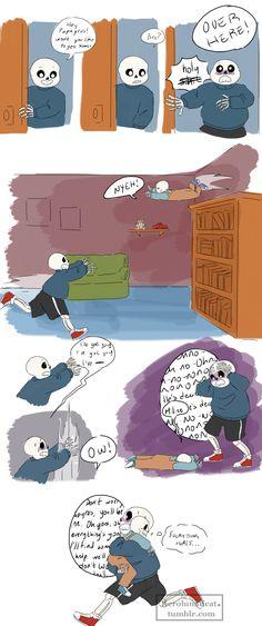 Sans and Papyrus #comic