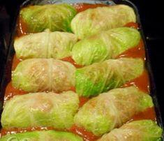 Recette de cigares au chou. Venison, Beef, Ginger Beard, Cabbage Rolls, Spring Rolls, Veggie Recipes, Asparagus, Casserole, Food And Drink