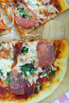 Homemade Pizza with Whole Wheat Dough