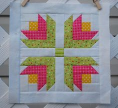 Hyacinth Quilt Designs: I can Paper Piece!