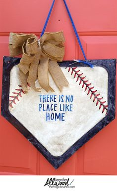 diy baseball bookends - learn how to make your own. such a fun