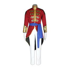 Code Geass Cosplay Costume - Gilbert G.P Guilford X-Small -- Click on the image for additional details.