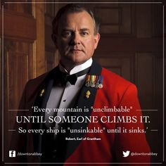 Lord Grantham Quote