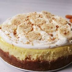 May 11, 2018 526 What does pudding mix do to cheesecake?! We weren't sure before this recipe. Now we know it makes cheesecake amazingly creamy and extra flavorful. If you can't find banana cream pudding mix, vanilla totally works! #easyrecipe #baking #banana #pudding #cheesecake