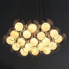 LED Glass Ceiling Lamp For Dining Room Pendant Light Modern Chandeliers Fixtures Pendant Lighting Bedroom, Pendant Lamp, Pendant Lights, Ceiling Fixtures, Ceiling Lights, Light Fixtures, Chandeliers, Modern Pendant Light, Modern Glass