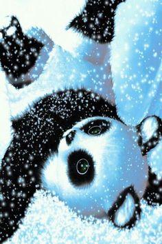 Pandas too cute! Cute Panda Drawing, Cute Animal Drawings Kawaii, Cute Cartoon Animals, Cute Drawings, Baby Animals Super Cute, Cute Baby Dogs, Cute Little Animals, Baby Animals Pictures, Cute Animal Photos