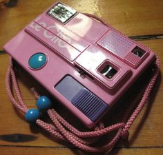 Rare Pink Retro 1980's Le Clic Toy Camera by featherhaus on Etsy