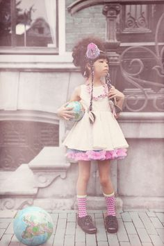 Funky layered look from fäfä kids fashion for summer 2014