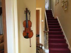 Wall art. Musical instrument. Violin