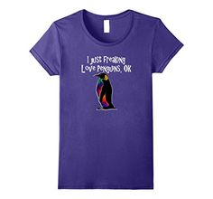 Womens Penguin Lover T-Shirt I Just Freaking Love Penguin... https://www.amazon.com/dp/B076Q6VG7X/ref=cm_sw_r_pi_dp_x_nCZ7zbVEA4VHC