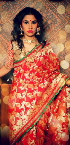 Bridal Saree by Ayush Kejriwal
