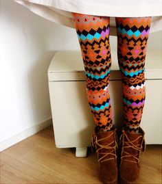 Fun tights.