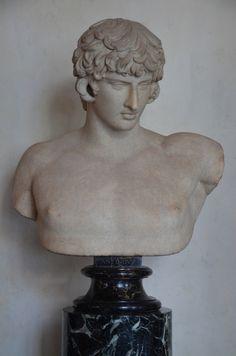 Busto de Antinoo, 130-138 dC, Galleria degli Uffizi, Florencia Carole Raddato CC BY-SA