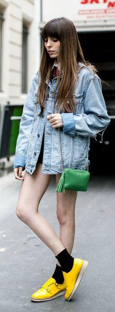 Girls of Paris  street style