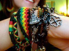 Rasta Bracelets