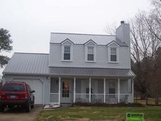Best Houses With Gray Roofs Grey Metal Roof Dove Gray 400 x 300