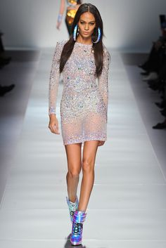 Blumarine Fall 2012 Ready-to-Wear Fashion Show - Joan Smalls