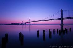 Bay Bridge without Lights by Anakin Yang, via 500px