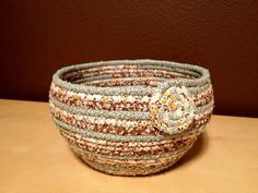 fabric bowls on pinterest fabric bowls rope basket and fabric