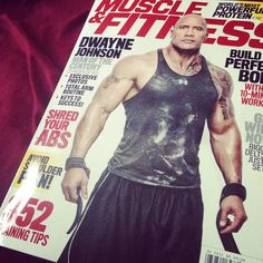 Male Crush Monday!  @therock HAD to pick up the recent issue of @muscle_and_fitness of course because The Rock is on it. I love him and his story is amazing and truly inspiring. He's a great guy inside and out and it really shines through when hearing his background. All success of his is warranted and well deserved.  #TheRock #muscleandfitness #mcm #fitness #fitspo #liftingladies #workouts #fitgirls #fit #fitfam #abs #motivation #macros #bodybuilding #lifting #bikiniprep #contestprep #npc…