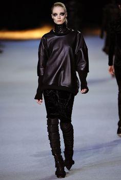 Kanye West Fall 2012 Ready-to-Wear Fashion Show - Anja Rubik