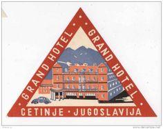 Grand Hotel Cetinje, Yugoslavia