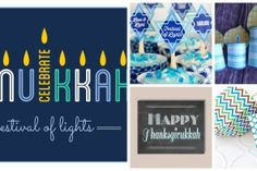 The coolest Hanukkah printables, lots of them free. Great for last-minute decorating!