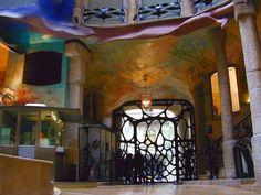 Casa Mila from the inside...