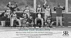 Not your boring baseball team photo