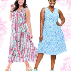 From maxis to midis, we've got every dress you need. 😍 #LoveWhatYouWear Comfy Dresses, Plus Size Maxi Dresses, Summer Dresses, Woman Within, Pin Tucks, Maxis, Knit Dress, Floral Prints, Knitting