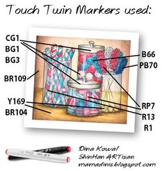 Touch Twin Markers & More: Happy 4th of July!