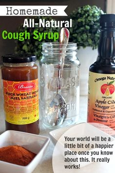 DIY Homemade All-Natural Cough Syrup