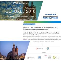 Open Education Global Conference 2016, 12-14 April Krakow, Poland http://conference.oeconsortium.org/2016/