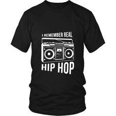 [product_style]-Rap T Shirt - I remember real Hip Hop Rap-Teelime