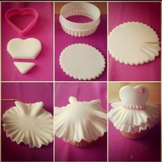 frilly cupcakes - Google Search