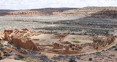 DYNASTIC CENTER Recovered DNA suggests that nine people buried in a huge structure called Pueblo Bonito (shown), located in northwestern New Mexico, belonged to a maternal dynasty that lasted for 330 years during the heyday of ancient Chaco society. ~~ D. Kennett/Penn State