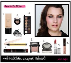 Kate Middleton inspired makeup look, by Sam of the Pixiwoo's!