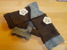 Romantic mittens