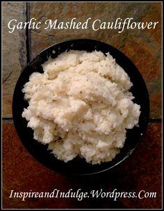 Homemade Garlic Mashed Cauliflower