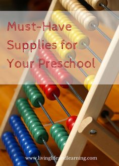 Setting up your  #Preschool space at home can be super easy so that you can make learning fun. #homeschool #homeschooling