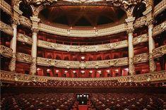 Les plus belles salles d'opéra du monde - Opéra Garnier - Paris Would love to see Don Giovanni here