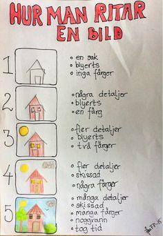 Att arbeta med bild i åk 3 Teacher Education, Art Education, Learn Swedish, Swedish Language, Educational Activities For Kids, Elements Of Art, Colouring Pages, Teaching Art, School Projects