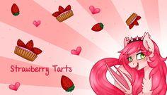 Strawberry Tarts by TechTalkPony.deviantart.com on @DeviantArt